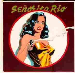 Mel Ramos - Senorita Rio