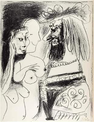 Pablo Picasso - Le Vieux Roi