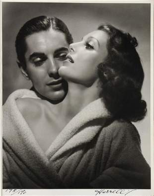 George Hurrell - Loretta Young and Tyrone Power