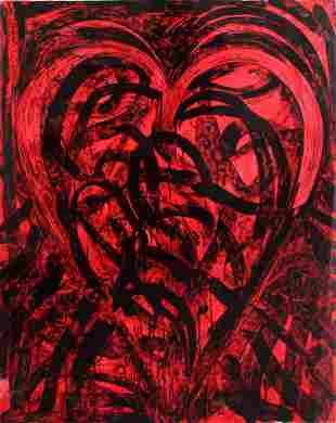 Jim Dine - The Red Talisman