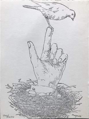 Rene Magritte - Untitled