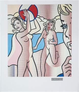 Roy Lichtenstein - Nudes with Beach Ball