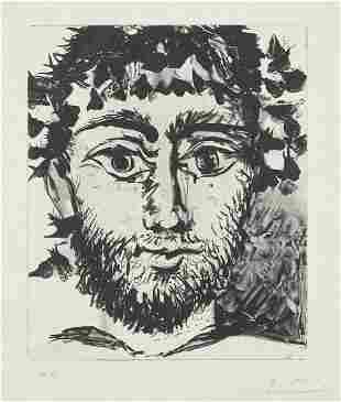 Pablo Picasso (After) - Tete de Faune