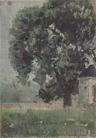 Egon Schiele (After) - Madchen mit grunem Rock