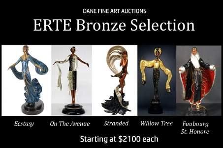 Erte Bronze Selection - Win and choose 1 or all 5