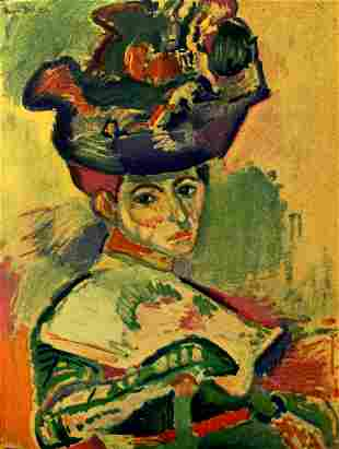 Henri Matisse (After) - Woman with a Hat