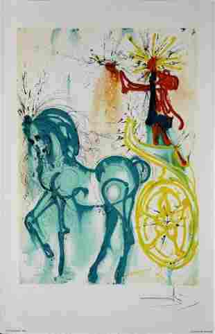 Salvador Dali - The Horse of Triumph