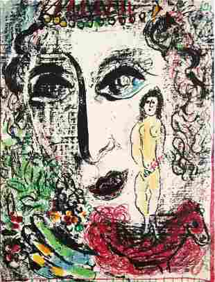Marc Chagall - Apparition at the Circus