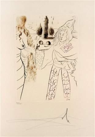 Salvador Dali - La femme adultere