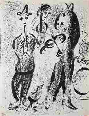 Marc Chagall - Les Saltimbanques