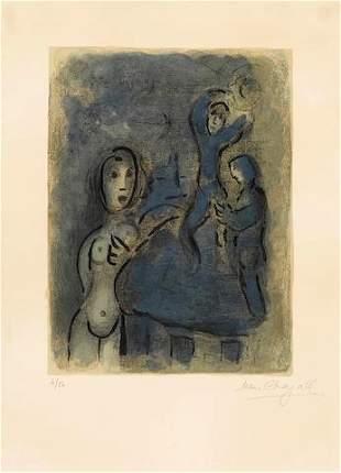 Marc Chagall - Rahab et les Espions de Jericho from