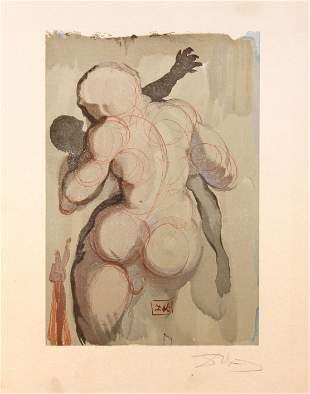 Salvador Dali - The Neglectful Meet Violent Death