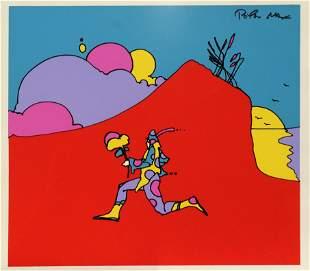 Peter Max - Cosmic Runner