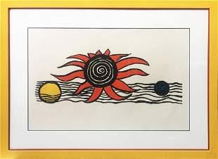 Alexander Calder - Red Sun