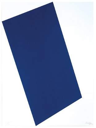 Ellsworth Kelly - Blue (for Leo)