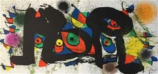 Joan Miro - Sculpture Plate 1