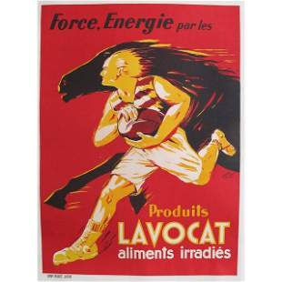 Vintage Poster - French Art Deco Food Poster Produits