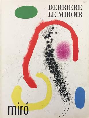 Joan Miro - Cover for Derriere le Miroir No. 125-126