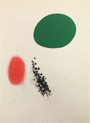 Joan Miro - Nouvelles III from Derriere le Miroir No.