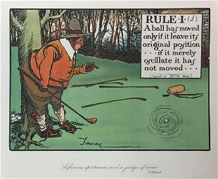 Chas Crombie - The Rules of Golf I (j)