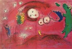 Marc Chagall (After) - Springtime in the Meadow