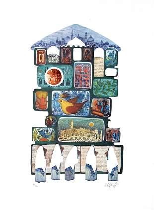 Amram Ebgi - Tafilah at the Wall