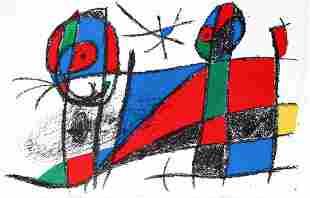 Joan Miro - Lithographie Originale VI