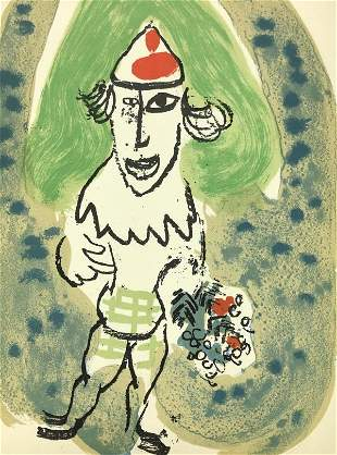 Marc Chagall - The Clown