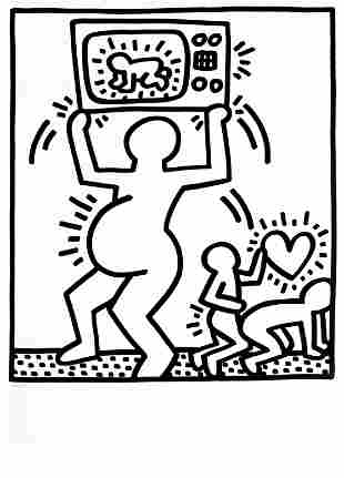 Keith Haring - TV Baby (from Lucio Amelio Suite)