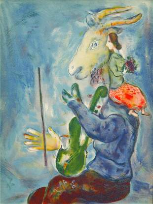 Marc Chagall - Spring