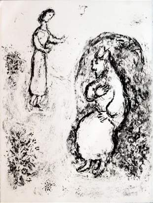 Marc Chagall - The Tempest II
