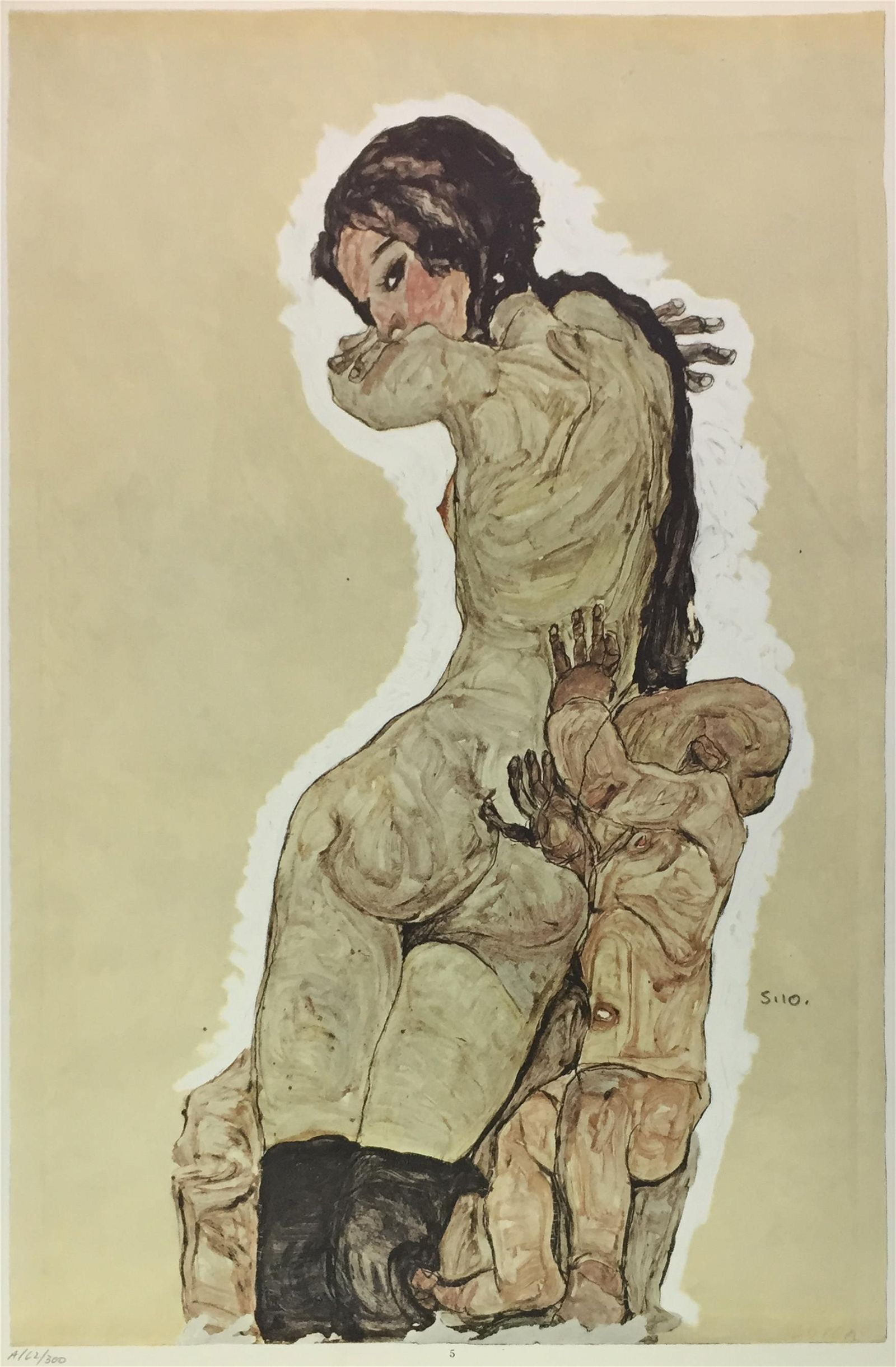 Egon Schiele (After) - Mother and Child