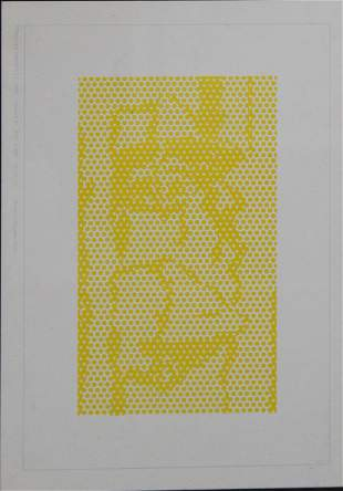 Roy Lichtenstein - Haystack #1