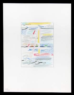 Roy Lichtenstein - Sunshine Through the Clouds