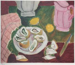 Henri Matisse - Oysters