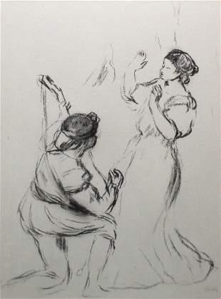 Pierre-Auguste Renoir (after) - La Belle et le