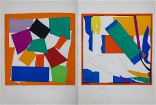 Henri Matisse  - Untitled from Verve Suite