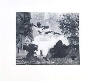 Paul Cezanne (after) - La Nouvelle Olympia
