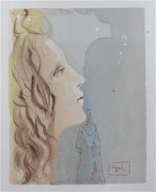 Salvador Dali - The Ascent to Venus