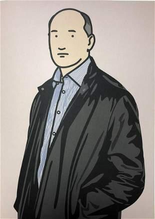 Julian Opie - Ashley with leather jacket