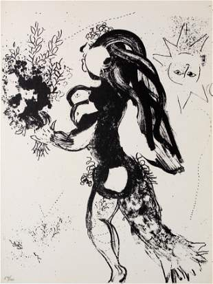Marc Chagall - The Offering