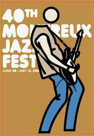 Julian Opie - Montreaux Jazz Festival 2006