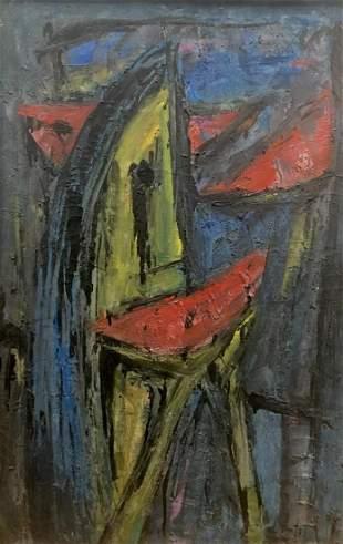Jaime Oates - Untitled Abstract Figure