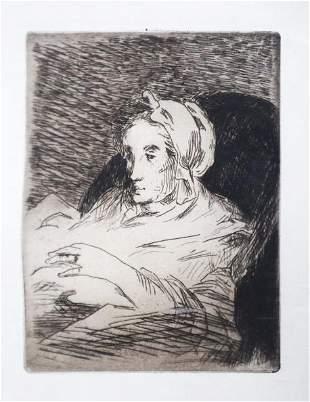 Edouard Manet - The Convalescent