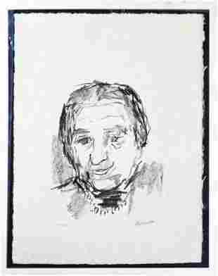 Oscar Kokoschka - Golda Meir. (Prime Minister).