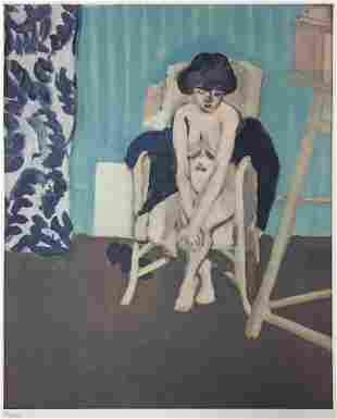 Henri Matisse - Study in Blue Room