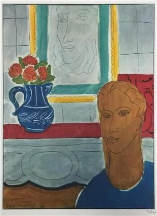 Henri Matisse - Portrait with Flowers