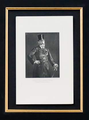 Edouard Manet - Portrait de M. Antonin Proust