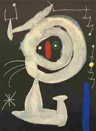 Joan Miro - Plate 24 from Derriere Le Miroir