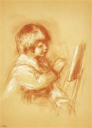 Pierre-Auguste Renoir - Le Petit Peintre